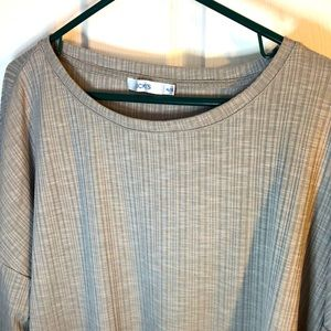 XL Ricki's grey pullover with cinching